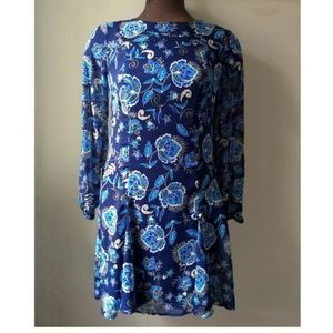 The Limited Floral Long sleeve Dress size 4P NWT
